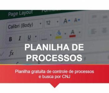 Controle de processos e busca por CNJ