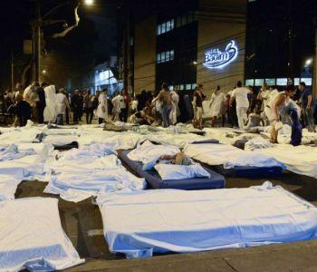 Sobe para 11 o número de mortos em incêndio de hospital no Rio de Janeiro